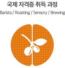 국제 자격증 취득 과정 - Barista/Roasting/Sensory/Brewing